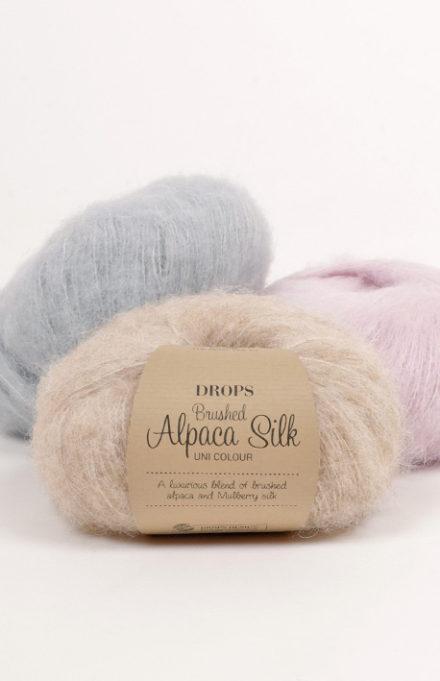 Drops Brushed Alapaca Silk