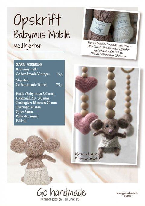 35584dbf0eb Babymus Mobile Booklet - Garn og tilbehør online | Prisgaranti og ...