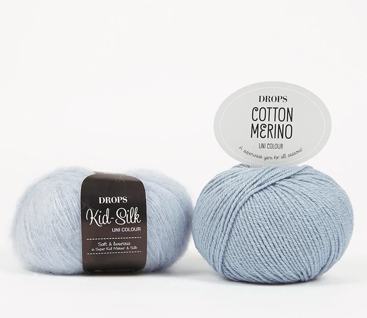 drops kid silk cotton merino