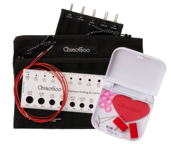 ChiaoGoo Twist red lace